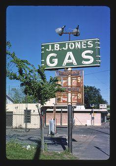 J.B. Jones Gas sign