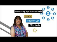 Networking Tips: How to Follow-Up Effectively        #networking #followup #next #steps #sales #conversation