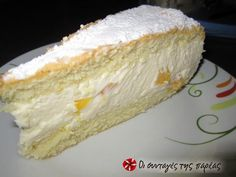 Greek Sweets, Greek Desserts, Greek Recipes, Chocolate Sweets, Love Chocolate, Confectionery, Vanilla Cake, Sweet Tooth, Bakery