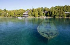 Whether purposefully sunk for scuba diving exploits or the devastating result of freak weather conditions, we've taken a look at some of the world's most spectacular shipwrecks, as well as how you can visit them. Ontario, Glass Bottom Boat, Ghost Ship, Fire Island, Europe Photos, Shipwreck, Scottish Highlands, Snorkeling, Scuba Diving