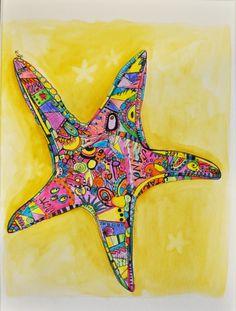 Mosiac Starfish. Ann Krier