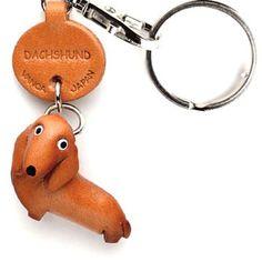 {Dachshund Keychain} Vanca Craft - how cute! I kind of want one :)