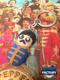 Paul McCartney sgt Pepper fimo handmade!