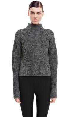 Acne Studios Loyal l-wool black/white. £230