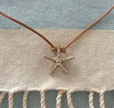 Starfish necklace.