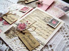 Kaarten  would make beautiful journal pages
