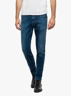At Evolve Clothing we provide the widest range of clothes from shirts to suits and everything in between. Evolve Clothing, Replay, Stretch Denim, Latest Fashion, Indigo, Footwear, Clothes For Women, Dark, Trending Outfits