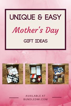Bundles make for a perfect Mother's Day gift! They are super easy & ship for free, yet are unique and thoughtful. Check out all of the options at our online store and show your mom some Michigan love! #michiganmade