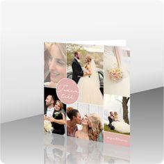 Takkekort bryllup - kortshop - produkter - Takkekort bryllup, 101046