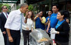 ¡El alimento favorito de Barack Obama es ________! Entérate, aquí: http://www.sal.pr/?p=101064