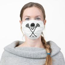 Cover up while expressing yourself and slowing the spread with this cute LAX fabric face mask. Whether you like sewing your own DIY face cover or want a washable and reusable face shield, upgrade your accessories game to match your outfit with a elegant reusable cloth face mask #lacrosse #family #sports Lacrosse Quotes, Lacrosse Gear, Just Because Gifts, Birthday Gifts For Boyfriend, Sticker Shop, Novelty Gifts, Headgear, Sensitive Skin, Special Occasion