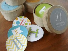 Monogram Sticker Variety Gift Set