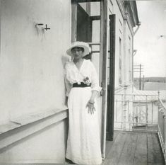 """Tatiana, 20 May 1916: """"We made photos on the balcony in our lazaret."""""""