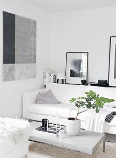 Estante detrás del sofá, una opción con muchas ventajas | Decorar tu casa es facilisimo.com                                                                                                                                                     Más