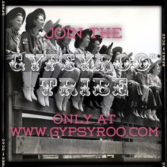 Join the Tribe! www.gypsyroo.com