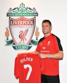 Milner, new signing for Liverpool! What a good signing!