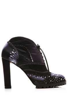 Candy Closs Capri Booties by Mary Katrantzou for Preorder on Moda Operandi