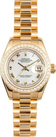 28e25985fbe Manufacturer  Rolex Model  Lady-Datejust 179138 Serial Year  K 2001-