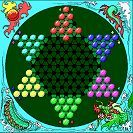 """Small Stuff's PrintMini: Printable Dollhouse Miniatures & Printies  1"""" scale board game: Chinese checkers *put these miniature games in their matching mini boxes...see additional Printables!*"""