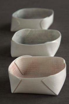 Fabriqué - faïence blanche chamotée Meilleur si porcelaine.