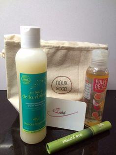Vanity Doux Good , en partenariat avec le blog e-Zabel Pour toutes les mamans pressées, 3 soins bio !
