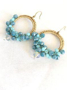 Un preferito personale dal mio negozio Etsy https://www.etsy.com/it/listing/549741828/earrings-drops-of-color-crochet-earrings