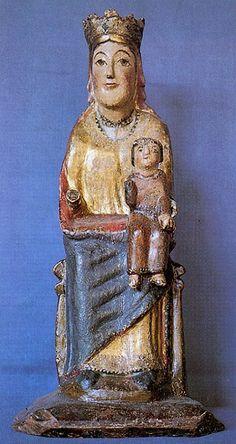 Mare de Déu, d'Olp (Pallars Sobirà). Segle XIII.