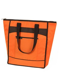 Take a look at this Orange Chillout Thermal Tote by Rachael Ray on #zulily today!$11.99, regular 20.00 Available in many colors.