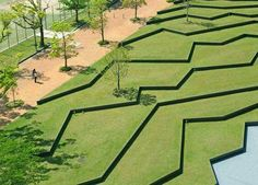 Kyushu Sangyo University Landscape Design, by DESIGN NETWORK +ASSOCIATES, Fukuoka, Japan. -The LA Team www.landarchs.com
