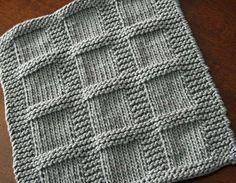KNITTING PATTERN-Bridgette, Dishcloth Pattern