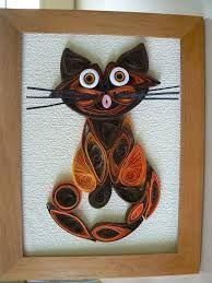 Resultado de imagen para quilling cats