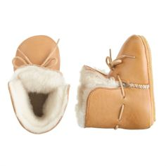 Baby Easy Peasy choudou shearling boots in oxi tan at J.Crew.