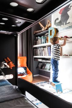 bunk bed Rafa-kids - at boys' room - 7 and 3 years old