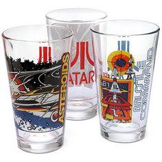 Atari Pint Glasses