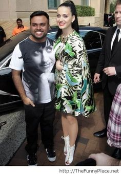 Katy Perry and a fan