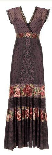 Michal Negrin Conspicuous Special Occasion Full-Length Dress Ornate with Victorian Roses Motif, Lace Trim and Crinkled Hemline Michal Negrin, http://www.amazon.com/dp/B0086OE5C6/ref=cm_sw_r_pi_dp_wDEdrb0A9W5RX