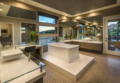 Residence Two at Lago Vista at Lake Las Vegas. #WilliamLyonSignatureHome