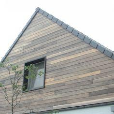 Padoek Planchetten Herentals (BE) Cement Texture, Cladding, Garage Doors, Sweet Home, Patio, Luxury, Architecture, Wood, Outdoor Decor