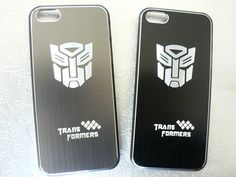 SALE  iPhone 5 case  Brushed Metal Transformer by POPStation, $20.00