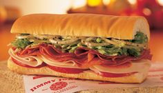 I order this sandwich every time I eat at Jimmy Johns. Because I would never buy salami or capicola and make a sandwich for myself at home.