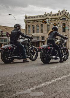 Here's to the minimalists. | Harley-Davidson #DarkCustom