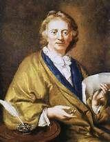 """Francois Couperin, dit """"Le Grand"""", portrait anonyme du 18°s (musée de Versailles). François Couperin dit Couperin le Grand (Paris 1668-1733), neveu de Louis Couperin (1626-1733). Organiste de St-Gervais à 17 ans, il obtient en 1693 l'un des 4 postes d'organiste de la Chapelle royale, puis devient maître de clavecin des princes de la famille royale et, en 1717, claveciniste du roi."""
