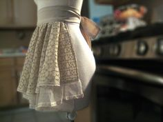 Jolina Eyelet And Pointelle Apron by curlsandkisses on Etsy (inspiration photo)
