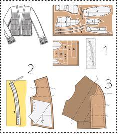 Sewing Lesson: Fringe Jacket 122 05/2016 #burdastyle #sewing #pattern #diy #sew