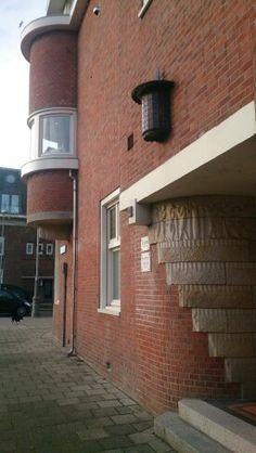 Architecture: Amsterdamse school, love the round details