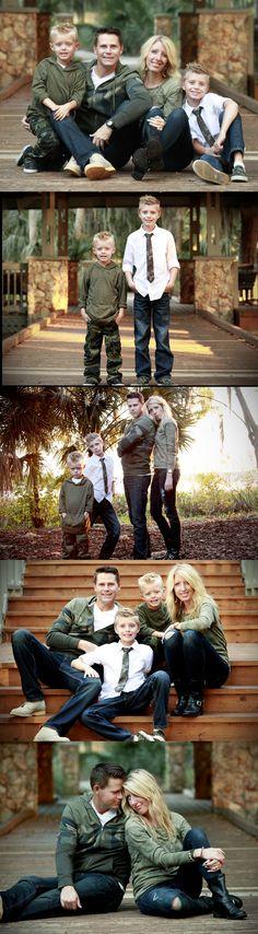 Camo family portraits - www.mindykerrphotography.com