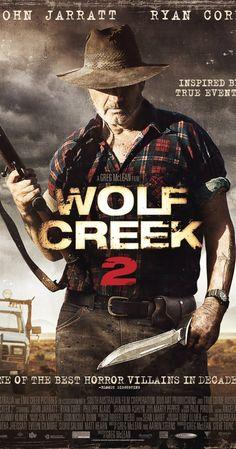 Wolf Creek 2 (2013) - O interior, mais uma vez torna-se um lugar de horror como outro turista inconsciente torna-se presa para enlouquecido, serial-matança do porco-hunter Mick Taylor.