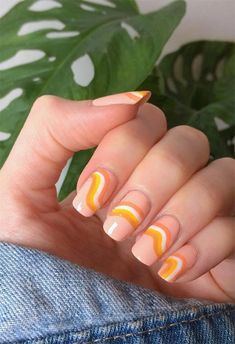 61 Pretty Spring Nails to Copy: Spring Nail Designs for 2020 Cute Acrylic Nails, Cute Nails, Almond Nails French, Cute Spring Nails, Summer Nails, Oval Nails, Speing Nails, Oval Nail Art, Glitter Nails