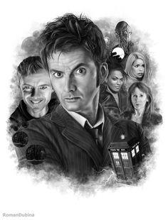 Doctor Who (10th Doctor) by RomanDubina.deviantart.com on @DeviantArt