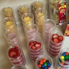 DIY lunchables/ quick-grab snacks.  So easy to make ahead!